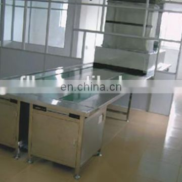 FLK China factory 5-20M adjustable variable speed belt conveyor, transportation table belt