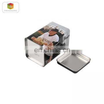 small product packaging box , small metal tin boxes , chinese tea tin box
