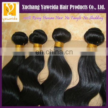 2014 new products fashionable body wave brazilian hair weave