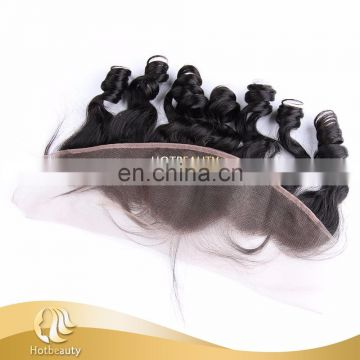 2016 New Arrived Natural Hairline Baby Hair Popular Lace Frontal 13x8