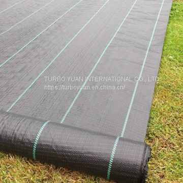 agricultural plastic ground cover fabric for weed control