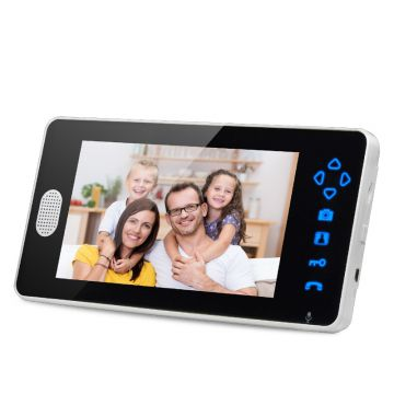 2.4GHz Digital wireless addams family doorbell video door intercom TL-A700A