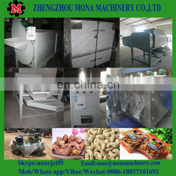 Automatic Stainless Steel cashew nuts peeling machine,cashew nut shelling machine