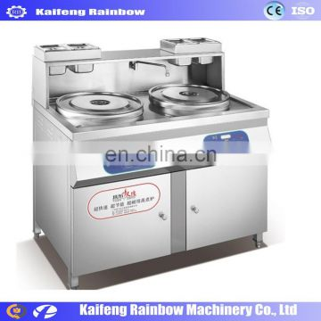 Professional commercial noodle cooker / noodle cooker machine with 2 boiler