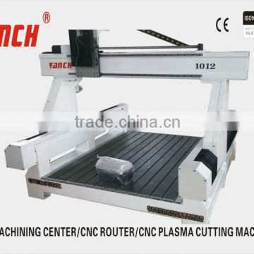High Z Axis Gantry Moving Cnc Router Ac Servo Hsd Spindle Dust Proof