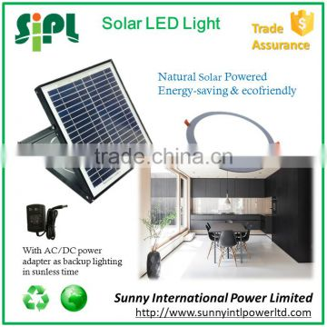 15 watt solar panel powered aluminum lamp body LED downlight motion-sensor light