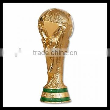 Custom world cup souvenir professional resin awards trophy manufacturer