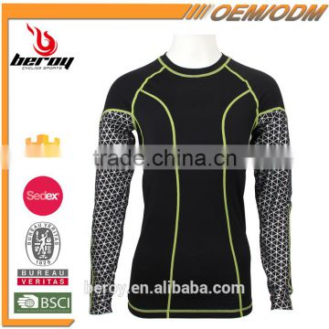 Custom your own sublimation long sleeve T shirt,ladies T-shirt for sports gym fitness