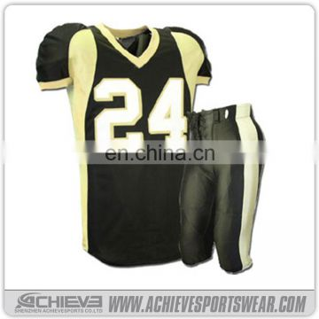 Wholesale Custom Design Youth American Football Uniforms American Football Jerseys made in China