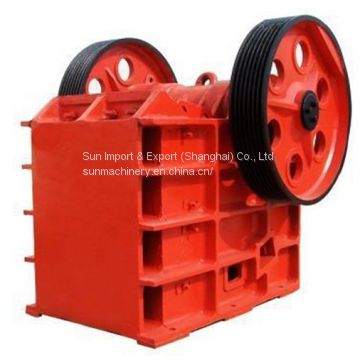 china supplier jaw crusher PE400*600 experienced manufacturer high quality competitive price