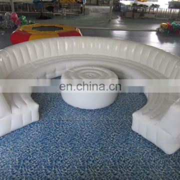 inflatable couch with led, inflatable safa bed