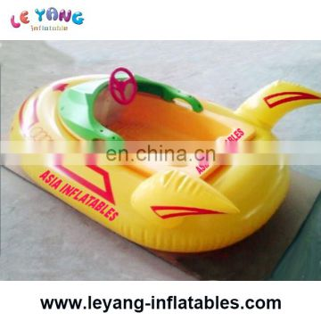 Inflatable bumper boat, kids electric boat for pool game rental