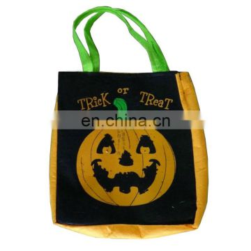 2016 New halloween candy pumpkin bag