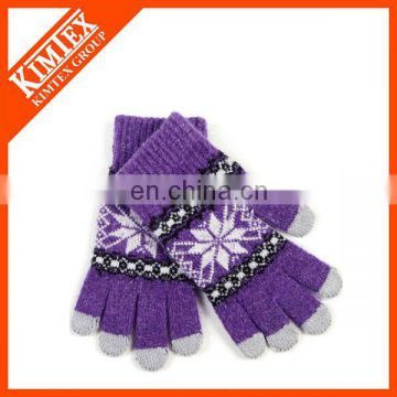 Acrylic touch finger gloves, Magic Gloves Manufacture