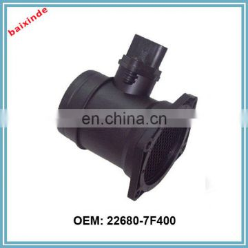 Auto parts MAF MASS AIR FLOW METER SENSOR 22680-7F400 FOR FORDs ,NISSANs PRIMERA 2.0 TD,TERRANO 226807F400