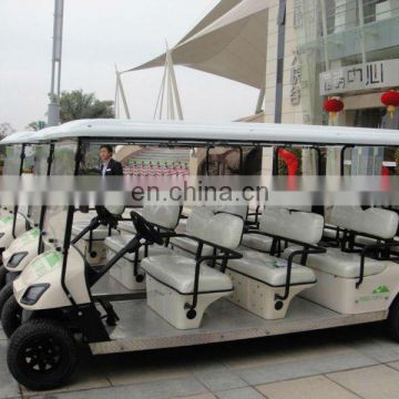 Powerful restaurant hotel electric golf cart sale 8 person golf cart