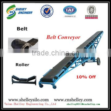 new design rubber belt conveyors for sale