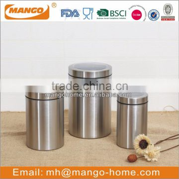 cheap price carving honey food air-tight storage metal canister with metal lid