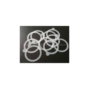 food grade translucent silicone weck ring, silicone weck gasket, silicone weck seal postcured without smell