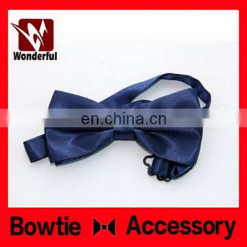 Special classical 100% silk woven self bow tie