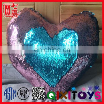 two color changing sequin throw pillow mermaid reversible sequin cushion