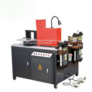 ZTMX-303K CNC cooper busbar cutting punching bending machine