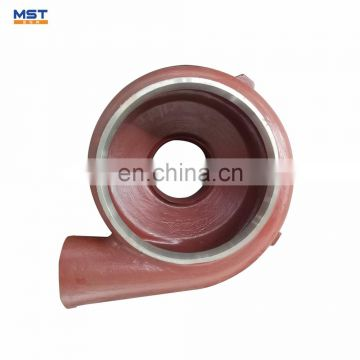 Slurry pump ductile iron sand casting products