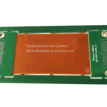 Double Sided Rigid Flex PCB