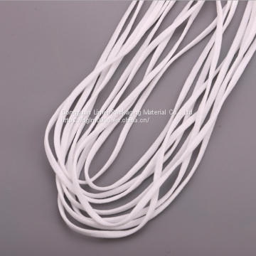 3 5mm Raw Materials Flat Elastic Band Earloop For Disposable Mask