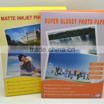 200g Glossy Photo Paper A4 factory direct sales
