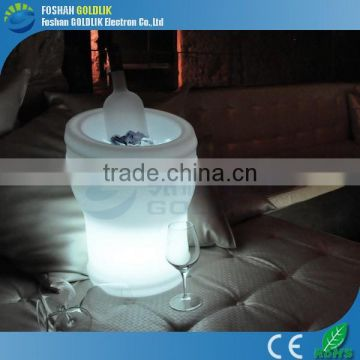 PE Rechargeable led Ice Bucket for Beer