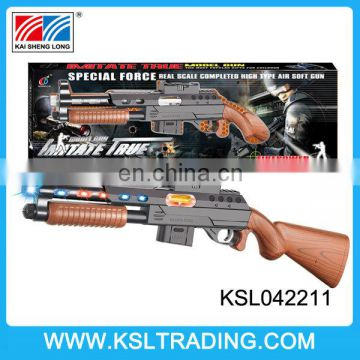 Hot sale infrared battey operated sniper toy gun replica with light and music