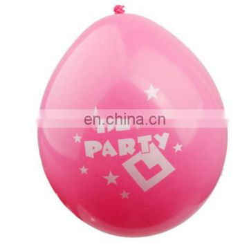 Star Decor Hen Party Balloons inflatable latex party balloon
