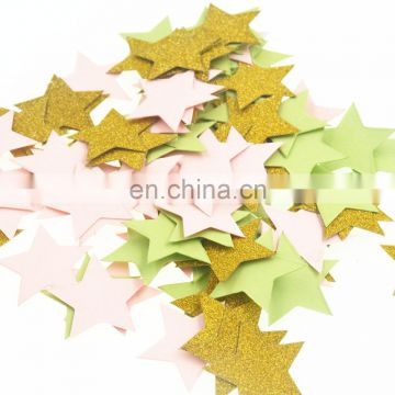 wedding decoration star shaped glitter paper confetti