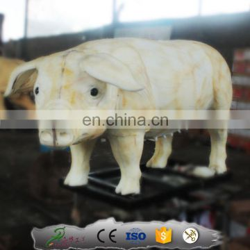 Kawah outdoor decoration life size art sculpture pig statue