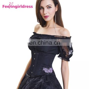 Wholesale High Quality Women Underbust Punishment Corset Steel Boned