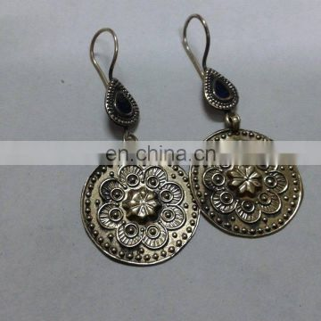 Afghan Tribal Carved Earrings
