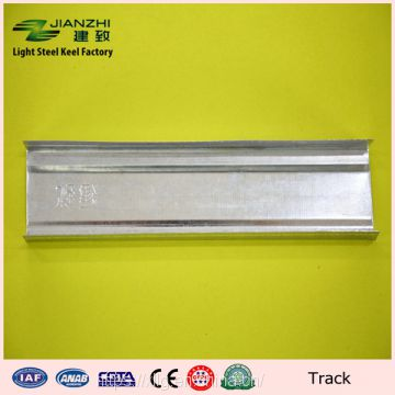Cheap sale 50*22 mm drywall galvanized steel channel u track with 0.38-0.6mm thickness