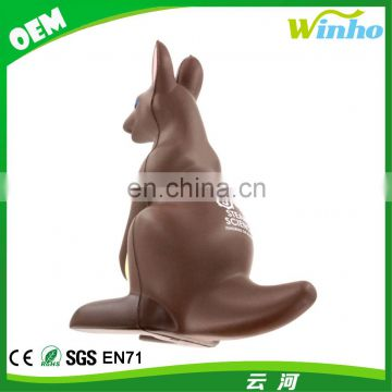 Winho PU Foam Anti Kangaroo Stress Ball Custom Stress
