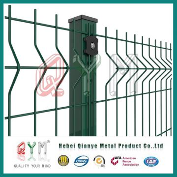 Welded Wire Mesh Panel/ PVC Coated Galvanized Fence Panel of Welded ...