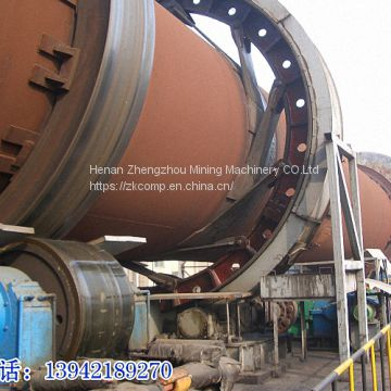 Quicklime rotary kiln plant / active lime production factory for sale by zk corp