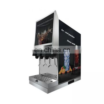 Restaurant using 4 drinks automatic coke vendingmachinewith CE