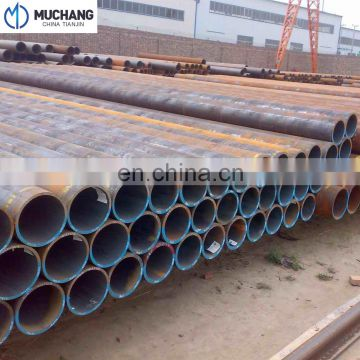 best quality china supplier MS crbon steel Straight seam weld pipe