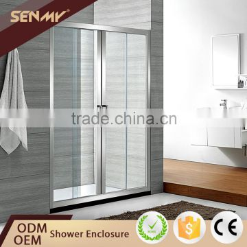 China Manufacturer 3 Panel Frame Parts Sliding Door Bathtub Shower ...