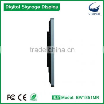 "42""- 55"" LCD display, USB auto update, Top Digital Signage Manufacturer CTSignage Model BW4201MR"