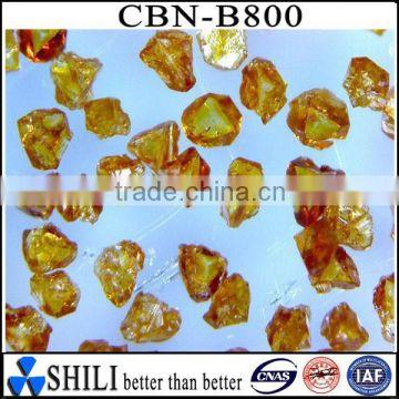 Cubic boron nitride CBN amber single crystal powder