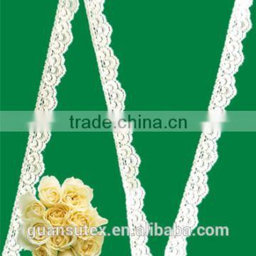 hot sale wholesale french chantilly lace trim for lady dress