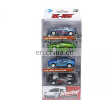 1/64 pull back metal car model toy two style mixs
