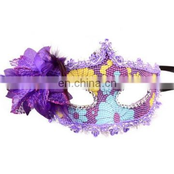 Low MOQ Carnival Women Venetian Masquerade Masks Wholesale