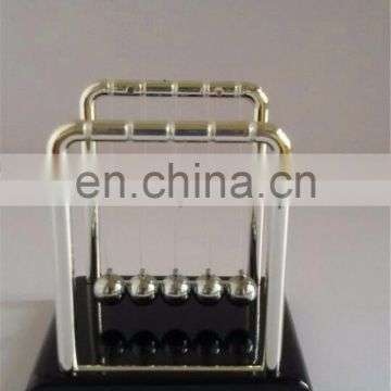 Newton Cradle Plastic Base With Color Box Package